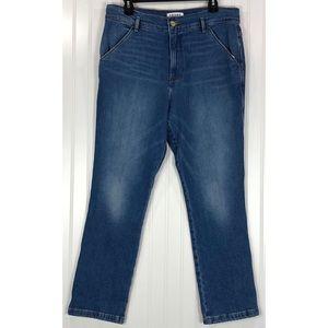 Frame Denim blue Straight Leg Jeans 8218